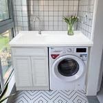 全铝家具阳台柜型材 铝合金浴室柜