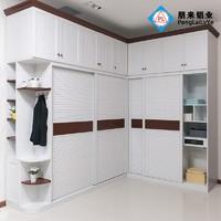 全鋁衣櫃現代簡約北歐移門衣櫃鋁材