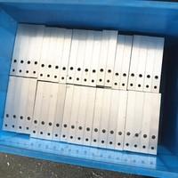 铝型材机加工 铝方管冲压 打孔 倒角