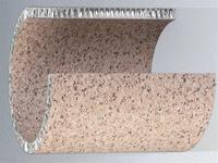 批发铝蜂窝板木纹石纹铝蜂窝板