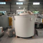 铝合金熔炉 燃气式熔炼炉 熔铝炉