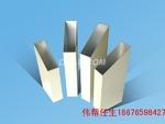 供应铝方管 铝无缝管 挤压铝管