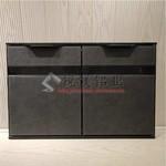 供应全铝橱柜铝材厂家 晶钢门材料