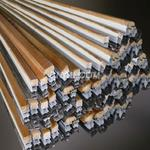 鋁型材|鋁木復合型材|幕墻型材|隔熱斷橋型材|洛克木鋁型材