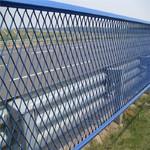 定制款钢板网护栏 专业防护网