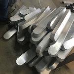 封头造型铝方通 可做木纹
