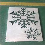 雪花雕花铝单板