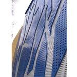 商場裝飾門口招牌鋁單板