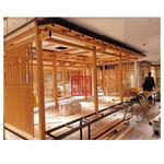 江门九田家餐厅 人物图案冲孔铝板