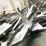 订做弧形木纹包柱铝单板厂家