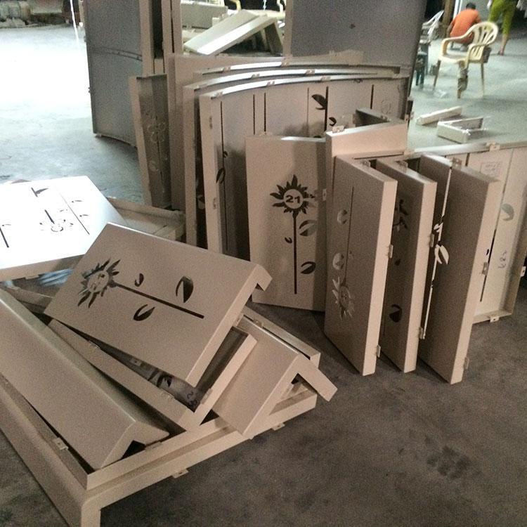 昌吉铝管围栏-博物馆工程定制