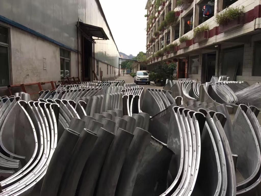 廣東遊樂場雙曲鋁單板 瑞櫚定制直供
