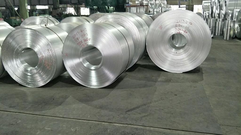 0.7mm彩涂铝卷生产