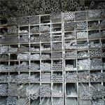 定6063厚壁合金铝管零切