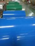 山东辊涂彩色铝板卷--灰色厂房蓝