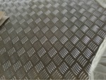 五条筋合金铝板卷花纹板