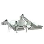 铜屑铝屑铁屑上料甩干出料系统