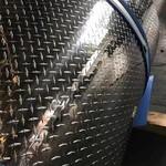舟山防滑铝合金板指针型花纹铝板