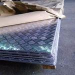 五条筋花纹铝板 1060镜面板