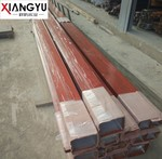 6063木纹转印铝方管可定制