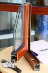 歐式平開門鋁合金型材優質建筑民用
