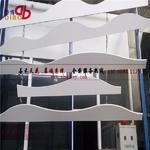 弧形鋁方通造型吊頂幕��