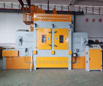 深圳尚柏廠家直銷輸送式自動噴砂機