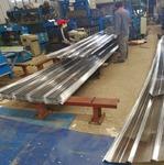0.8毫米铝瓦楞板价格 橘皮纹保温铝