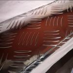 8個厚的五條筋防滑鋁板價格