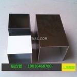 彩铝管100 100 2mm彩色喷涂方管