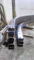 上海拉弯厂 供应铝方管弯圆加工