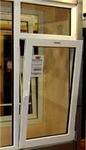 70ct穿条式断桥隔热平开窗铝材
