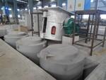 鋁合金坩堝熔化保溫爐