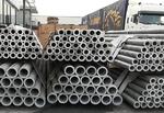 厚壁铝管厂家6063铝管直供切割