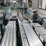 國標6063鋁管 折彎 鉆孔 噴砂氧化