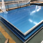 6060光面鋁板 6060雙面覆膜鋁板