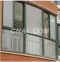 大瀝鋁材廠生產隱形防蚊盜網型材