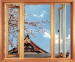 供应穿条系列节能外平开窗铝型材