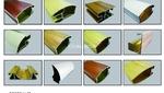 专业生产木纹门窗铝合金型材