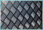 加厚花纹铝板6063环保五条筋铝板