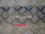 批发7075防滑铝板、五条筋花纹铝板
