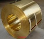 销售黄铜带 H62黄铜带分条环保铜带