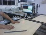 合金铝板激光在线测厚橡胶板测厚仪