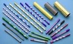 优质氧化色彩6061拉花直纹铝管
