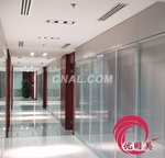 深圳鋁合金雙層玻璃百葉隔斷