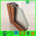 廠家直銷仿木紋鋁合金門窗型材
