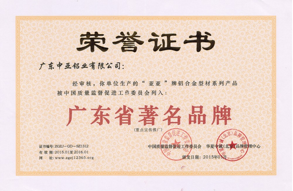 廣東省著名品牌