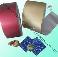 供应巧克力铝箔纸,铝箔包装纸