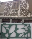 厂家定制茶楼廊道护栏式铝窗花