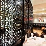 中式餐厅雕花隔断铝板 仿古铝屏风